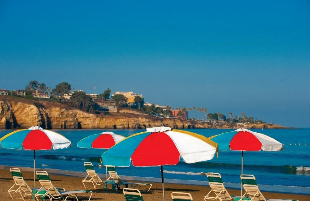 La Jolla Beach and Tennis Club is one of San Diego's best beach hotels.