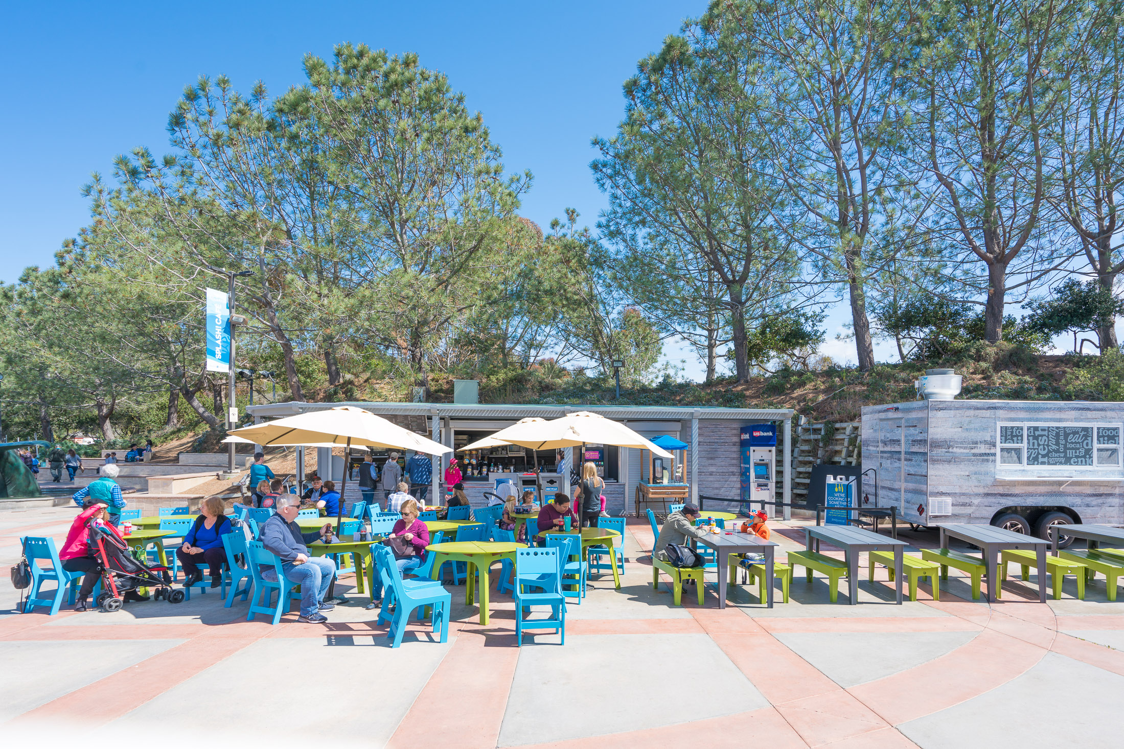 Splash Cafe at Birch Aquarium La Jolla