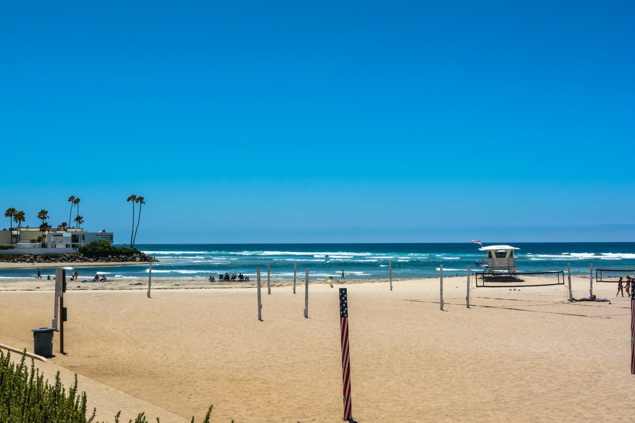San Diego beaches: Del Mar beach