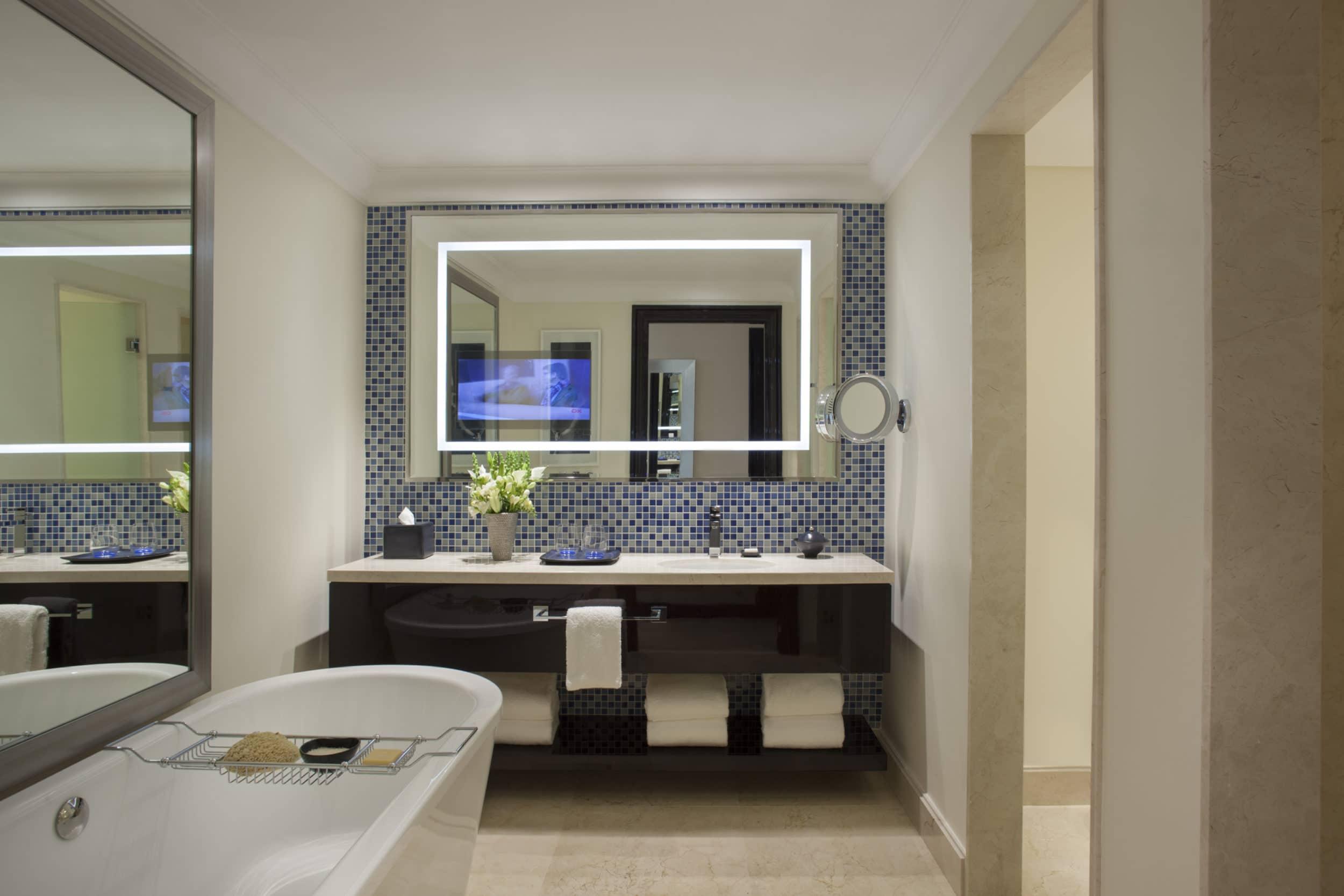 Four Seasons Buenos Aires marble bathroom