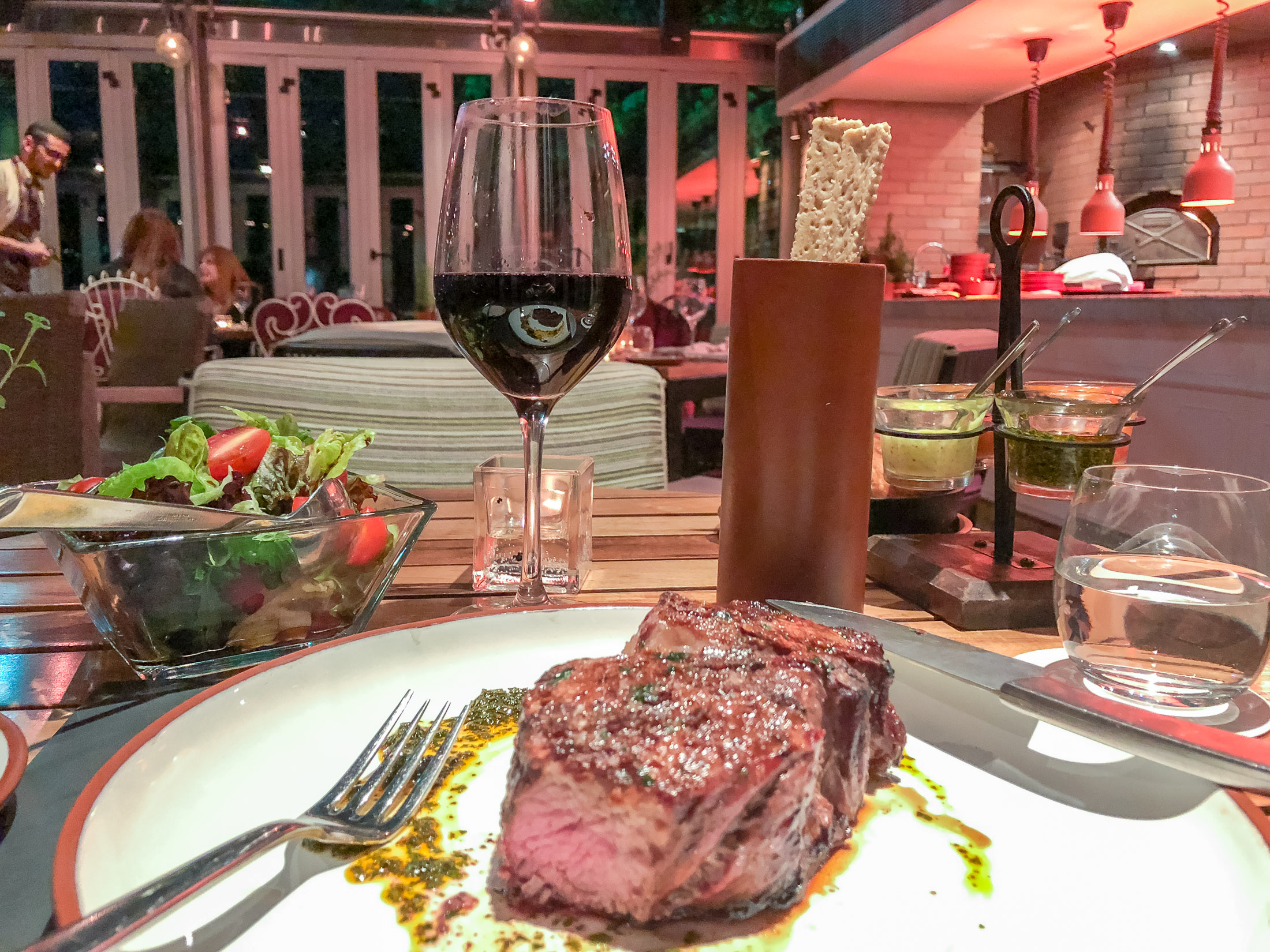 Four Seasons Buenos Aires: Steak at Nuestro Secreto