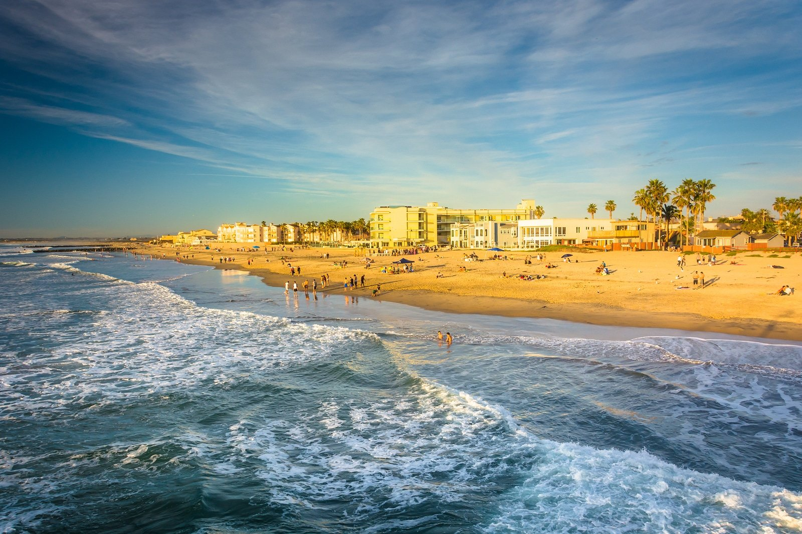 San Diego beaches: Imperial Beach