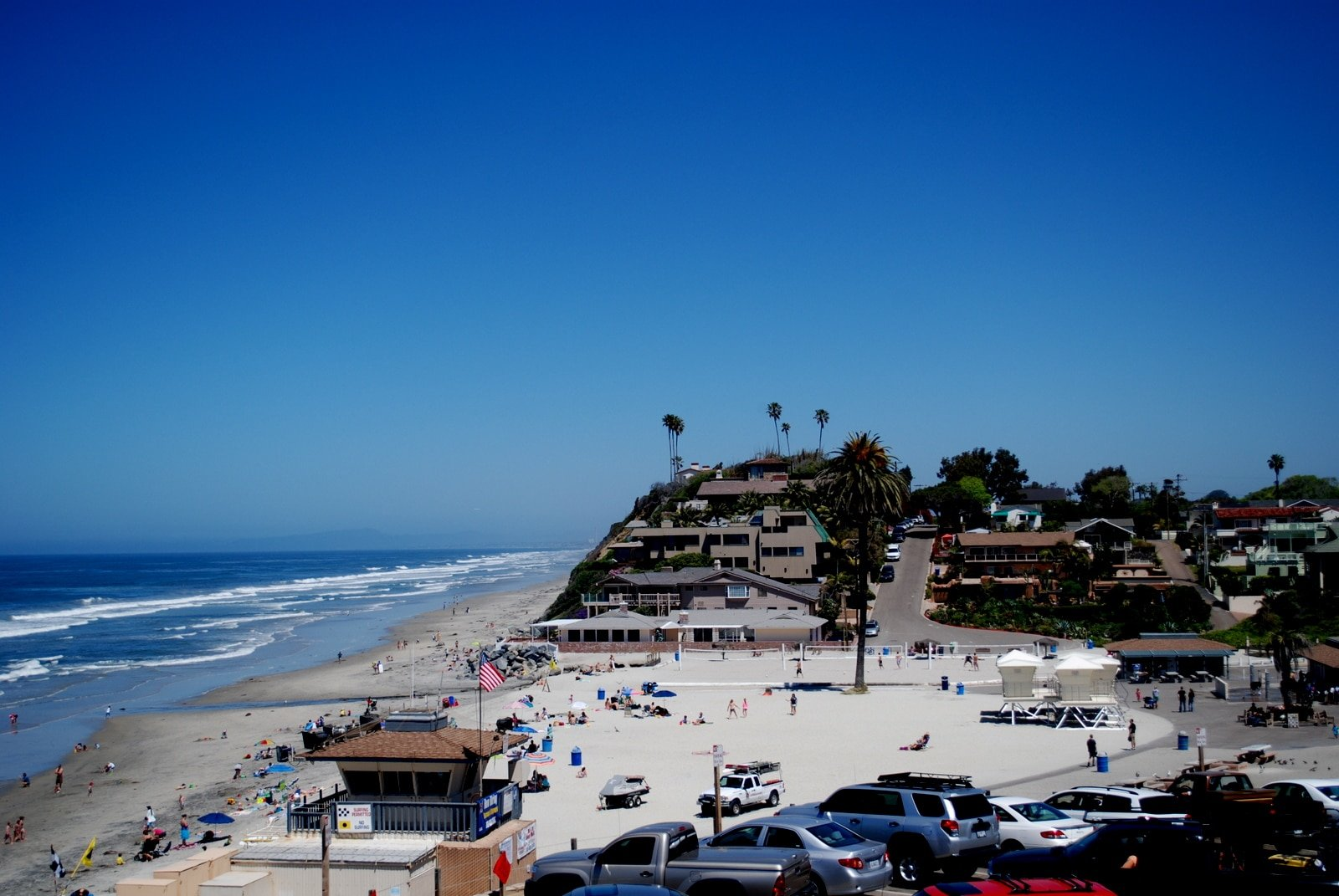 Moonlight Beach in Encinitas, California