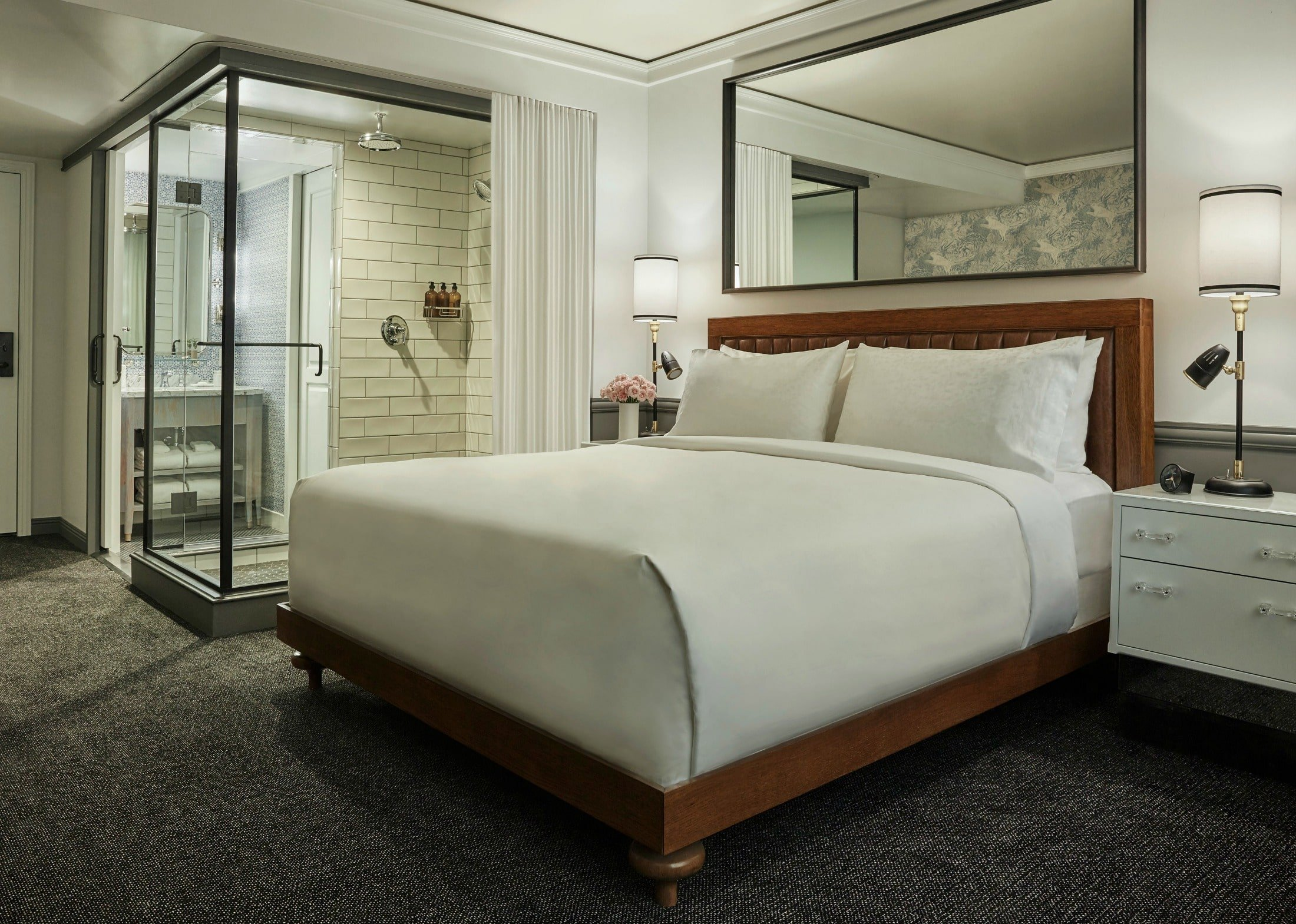 Connecting rooms at Pendry San Diego for large families