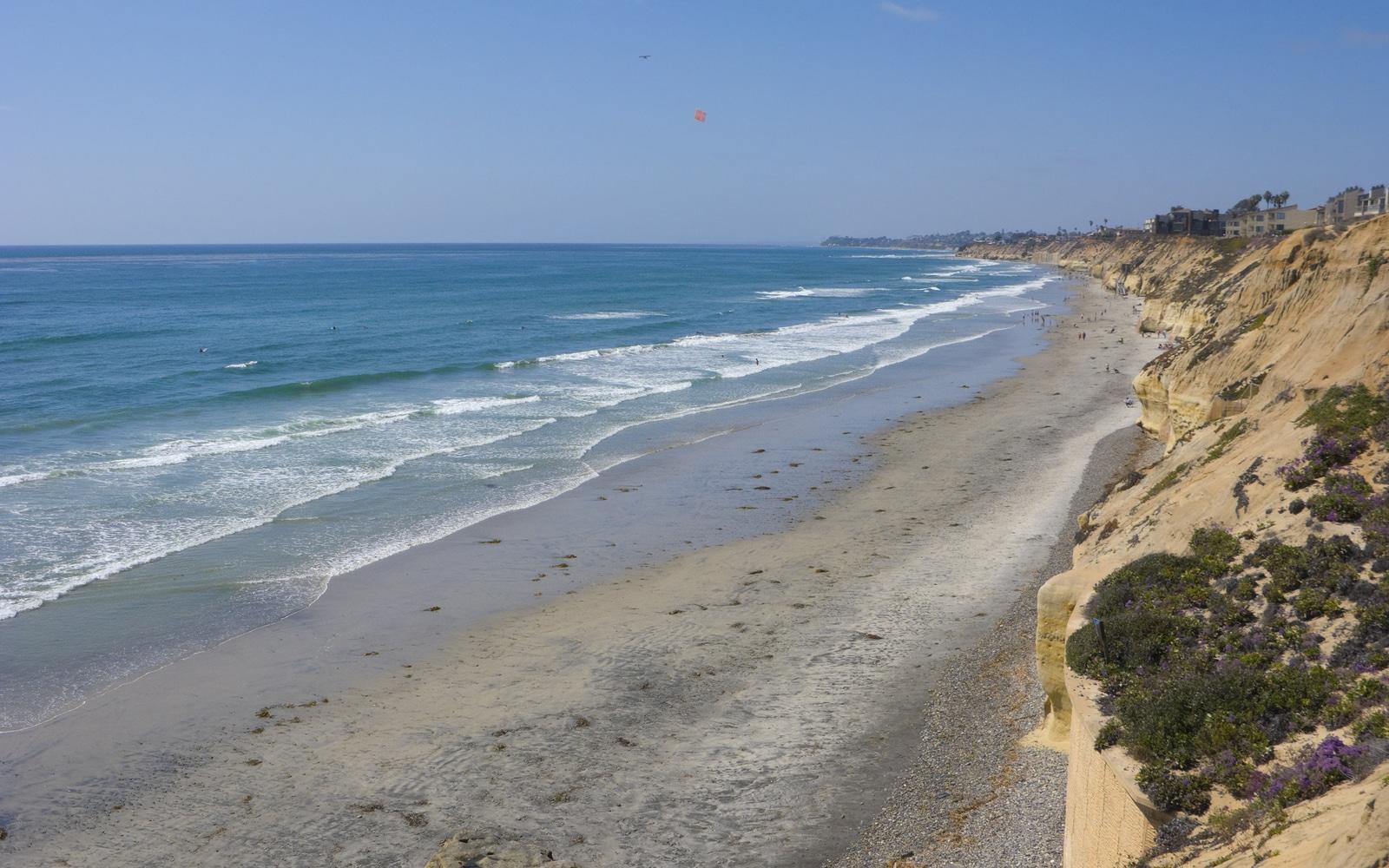 San Diego beaches: Solana Beach