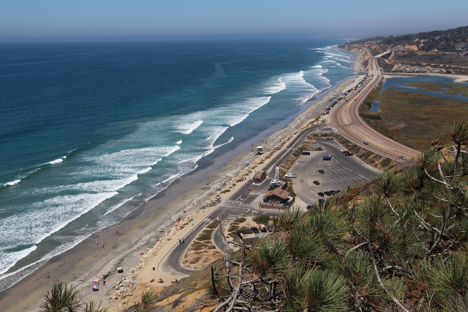 San Diego Beaches: Torrey Pines State Beach