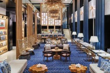 Hotel Republic San Diego lobby