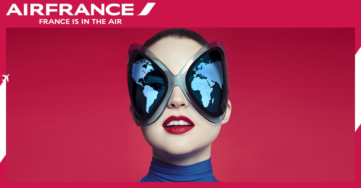 Air France flies to London, Cannes and Mumbai.