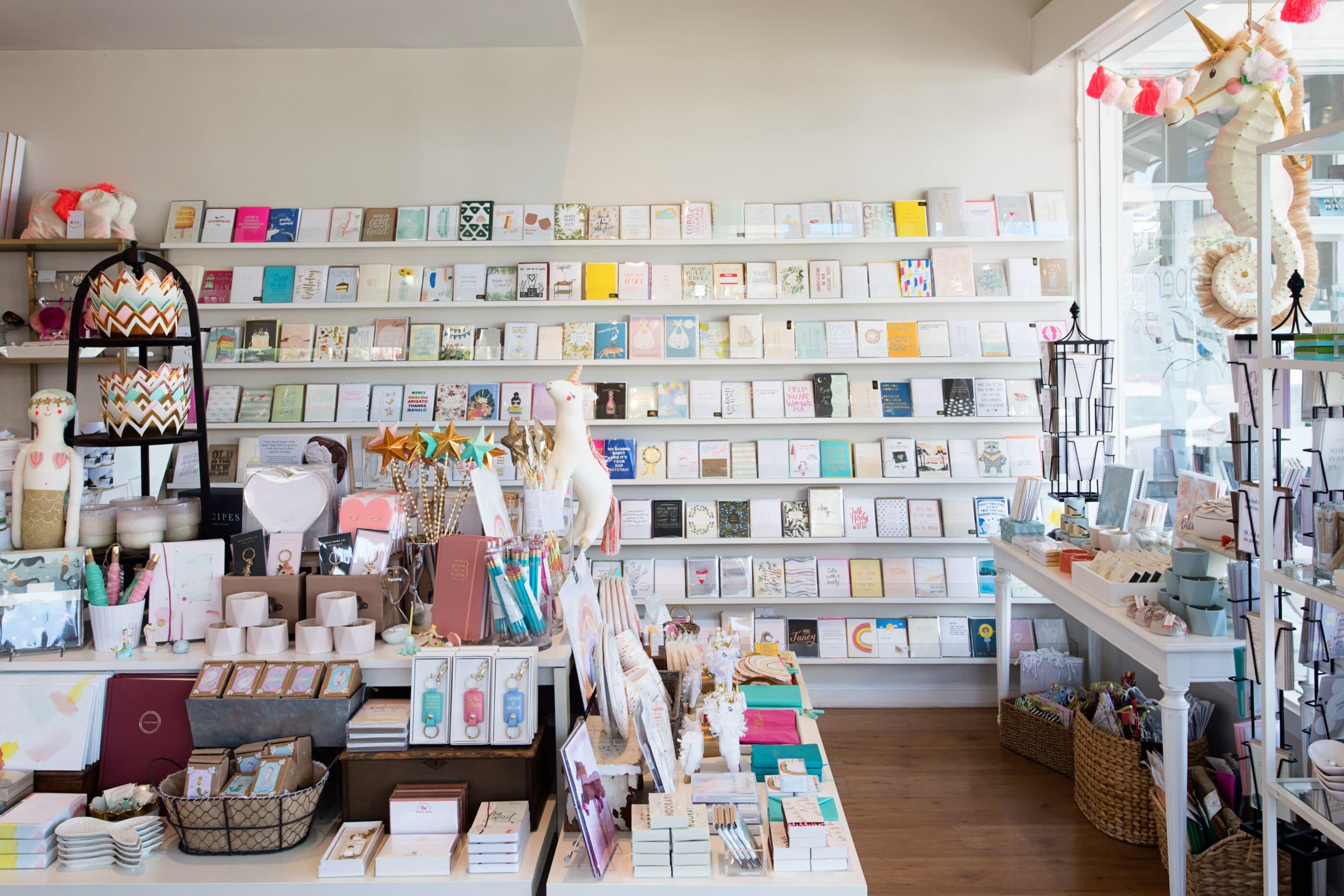 Best La Jolla Shopping: Sweet Paper