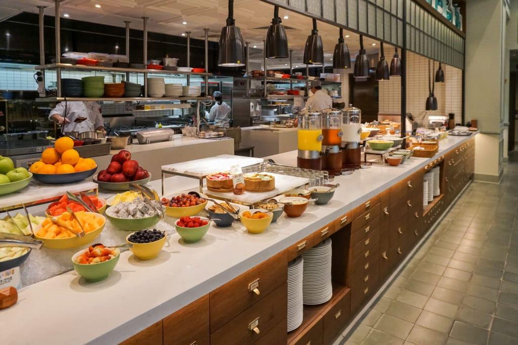 Semi-buffet breakfast at World of Color, Disney Explorers Lodge in Hong Kong