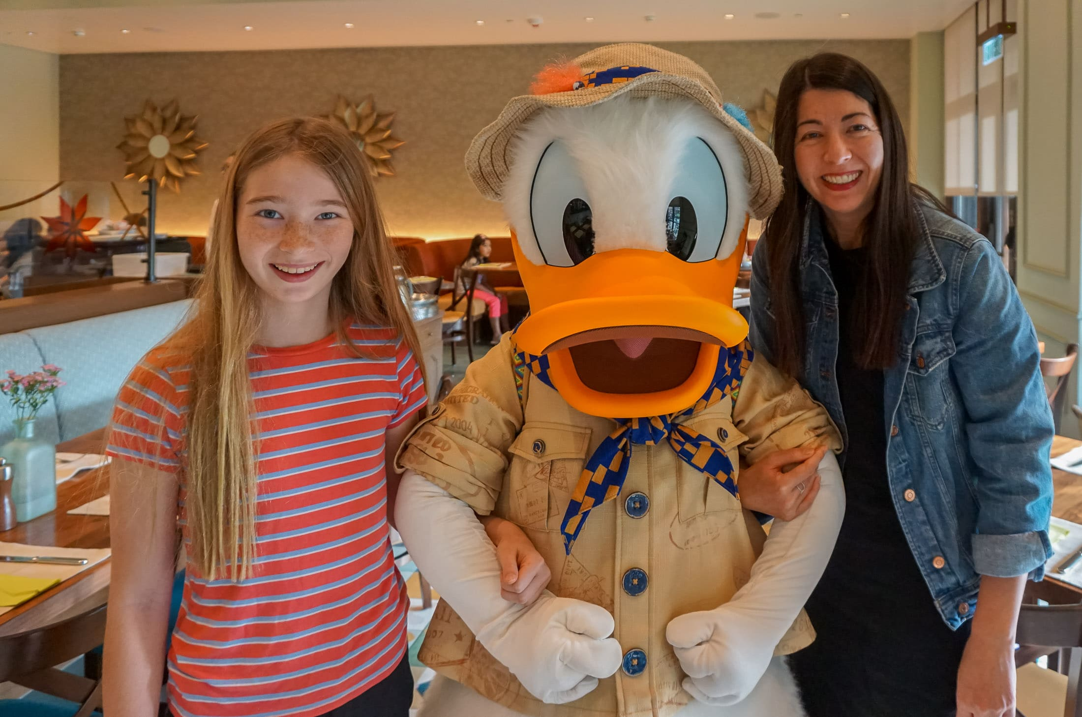 Character breakfast at Disney Explorers Lodge