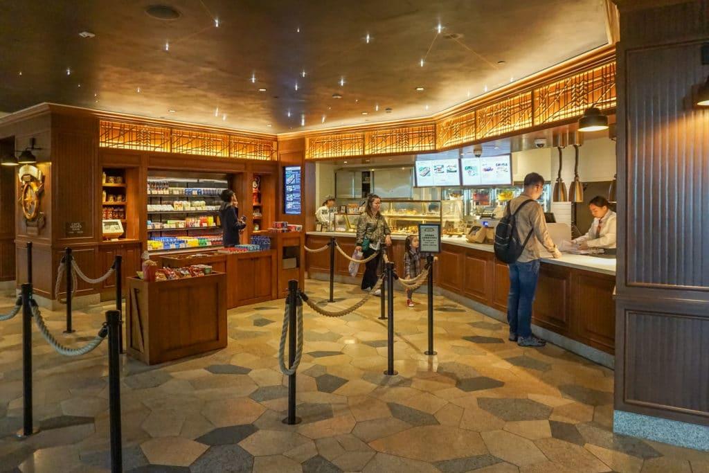 Chart Room Cafe at Disney Explorers Lodge, a Hong Kong Disneyland hotel