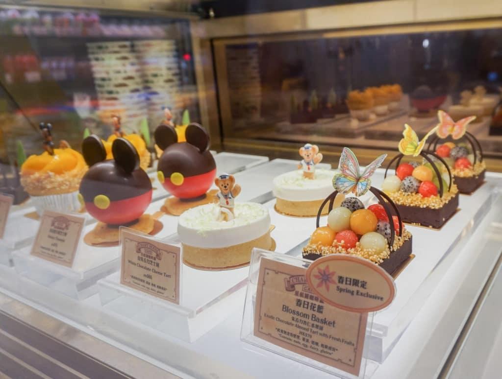 Pastries at Disney Explorers Lodge, a Hong Kong Disneyland hotel.