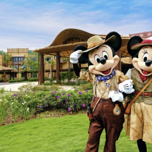 Disney Explorers Lodge at Hong Kong Disneyland