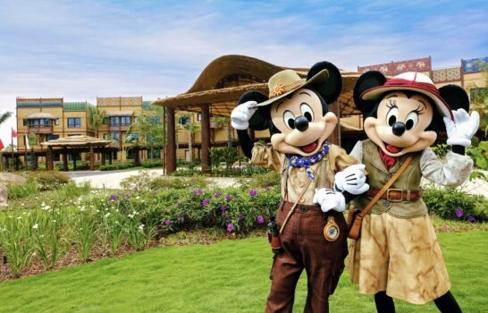 Disney Explorers Lodge at Hong Kong Disneyland