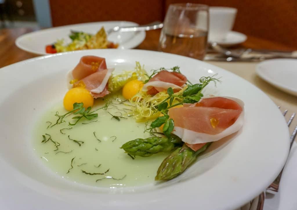 Prosciutto salad at World of Color, Disney Explorers Lodge