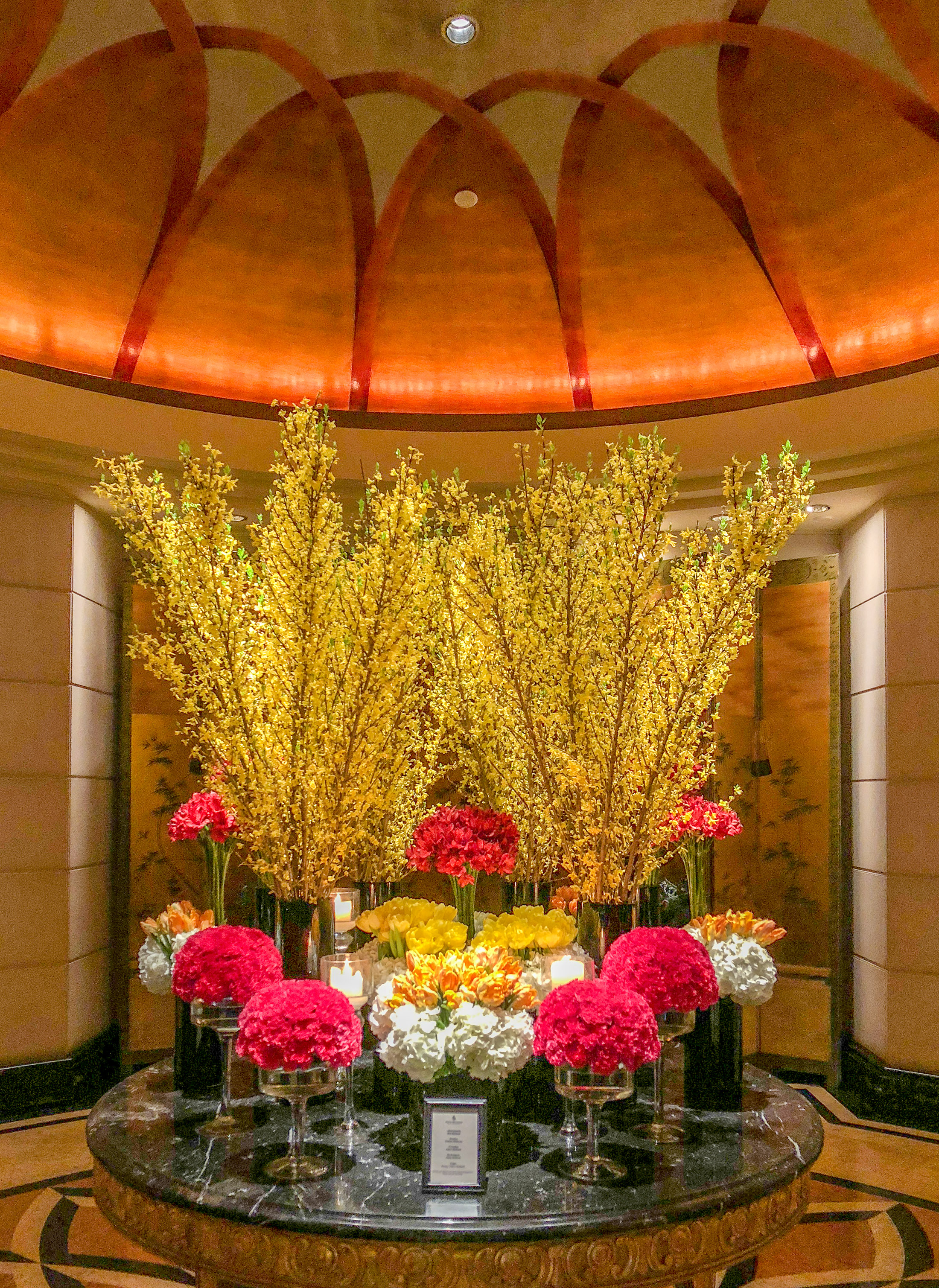 Four Seasons Hotel Singapore flowers