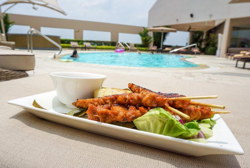 four seasons singapore pool menu