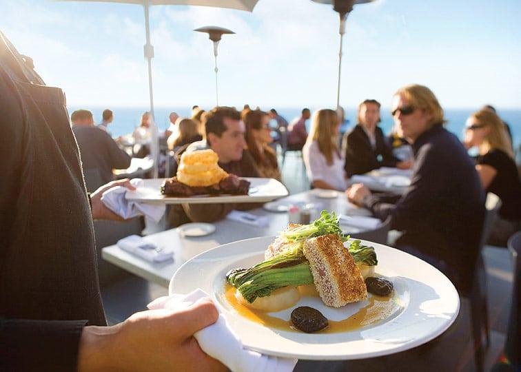La Jolla Cove restaurants: George's Ocean Terrace
