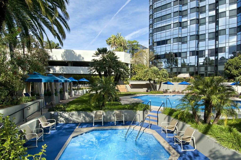 Pool alt Hilton Universal City/Los Angeles