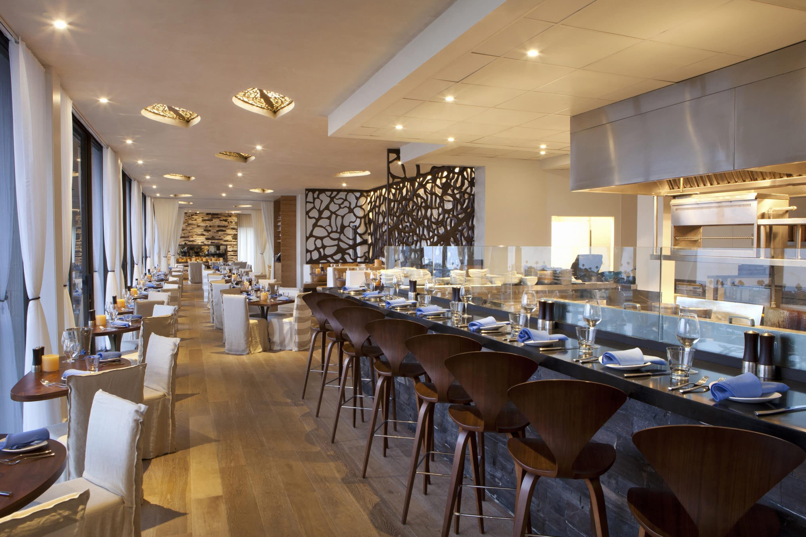CUSP Dining and Drinks restaurant interior inside Hotel La Jolla