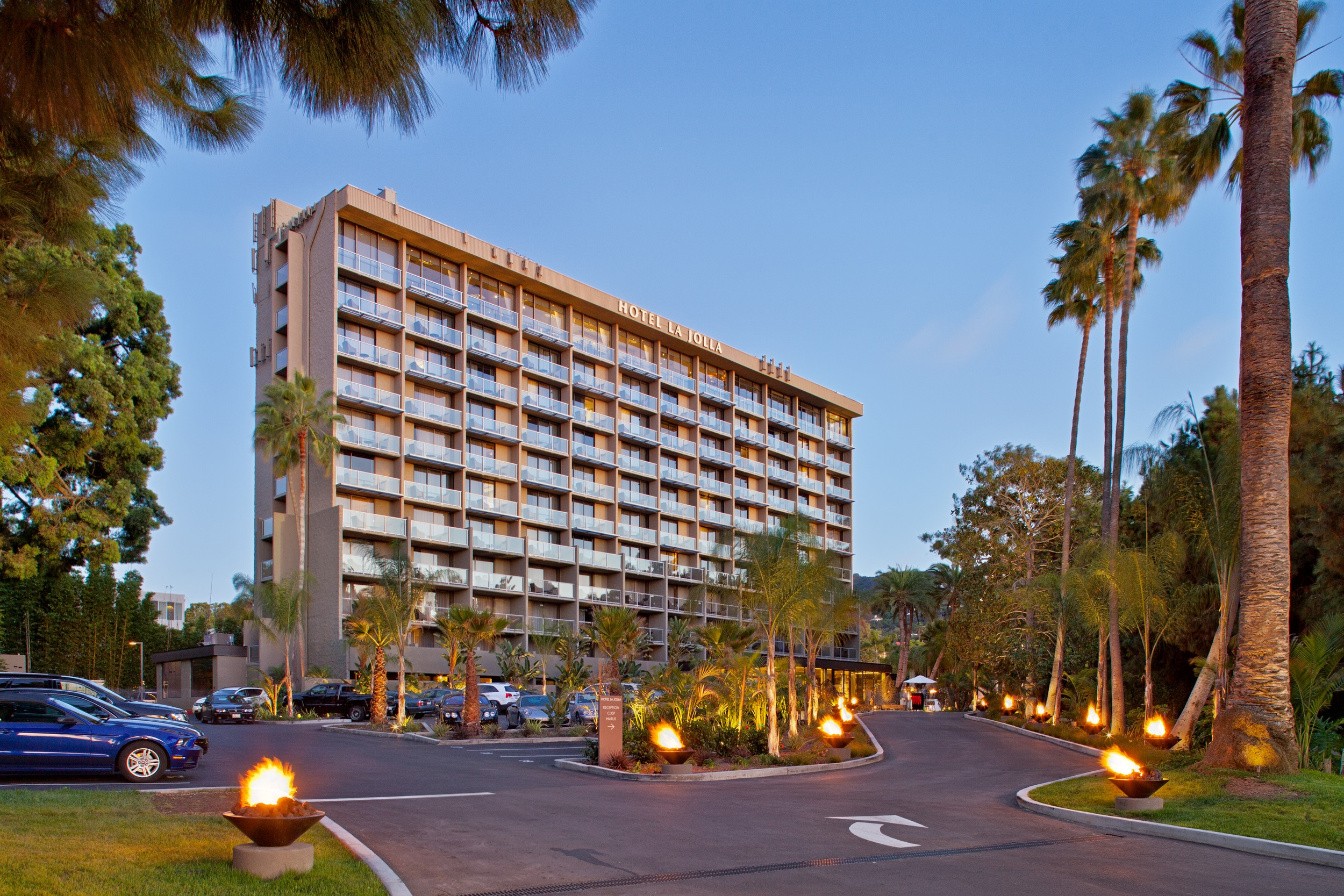 Hotel La Jolla location