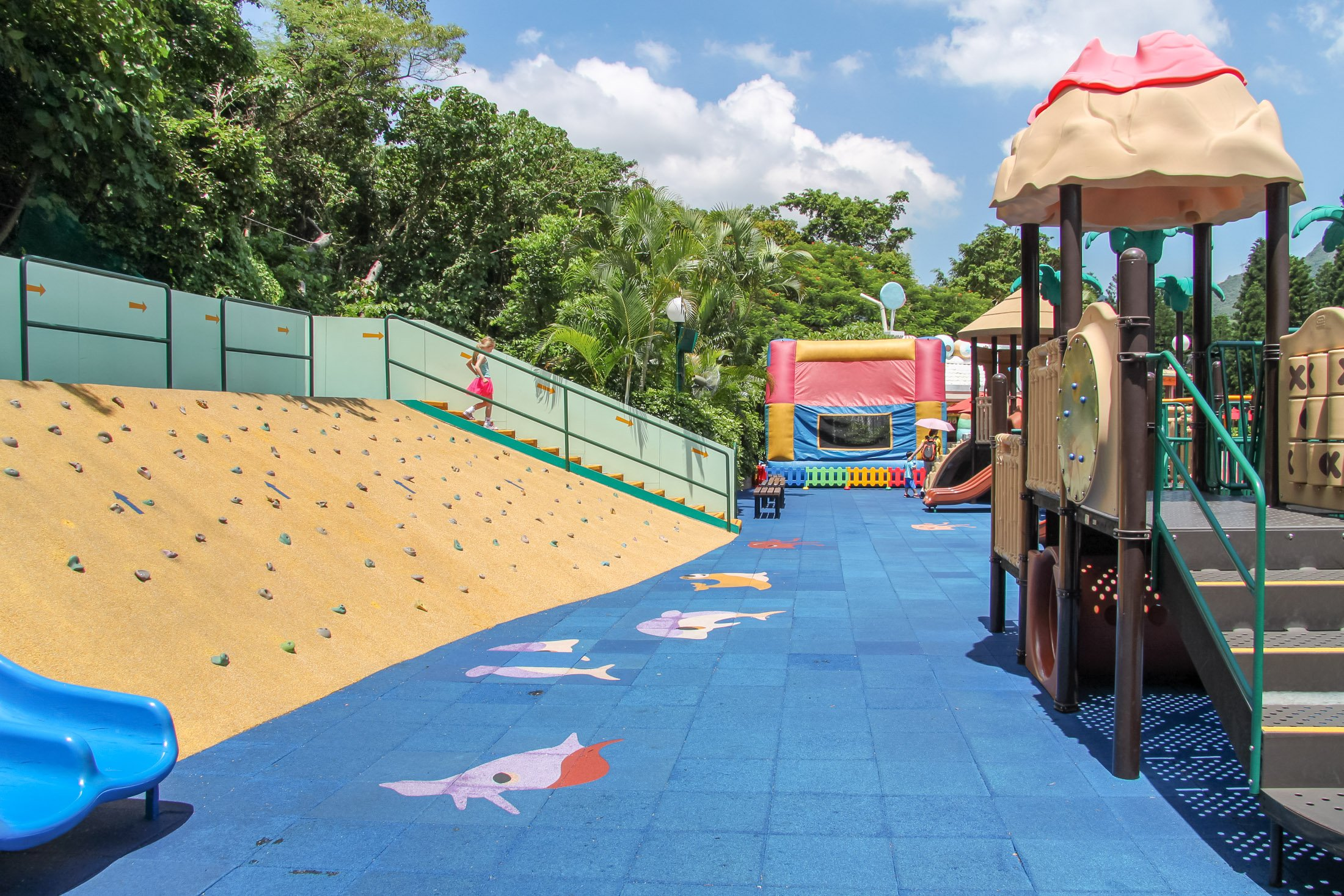 Whiskers Harbour playground at Ocean Park Hong Kong