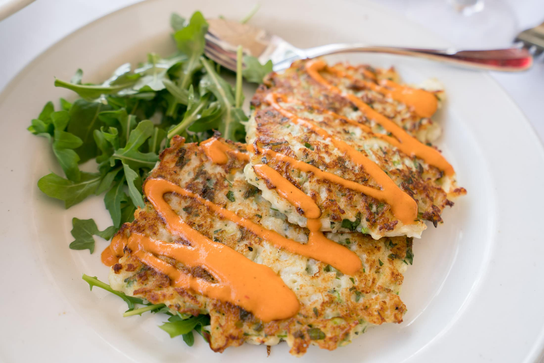 Piatti La Jolla appetizer - herbed cauliflower