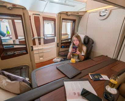 What It's Like to Fly in Singapore Airlines First Class Suites