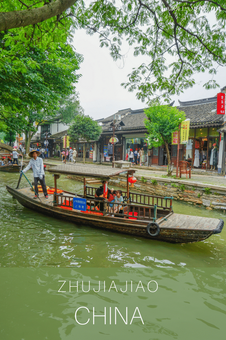 Zhujiajiao water town is a great day trip from Shanghai. Here's what it's like from food to shopping.