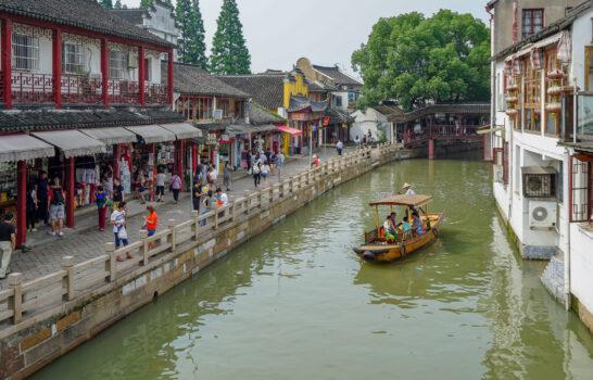 Ancient Zhujiajiao Water Town Day Trip from Shanghai