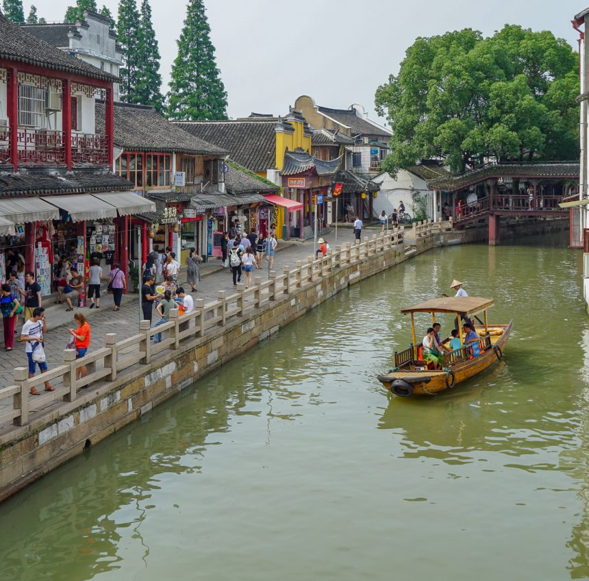 Ancient Zhujiajiao Water Town Day Trip from Shanghai