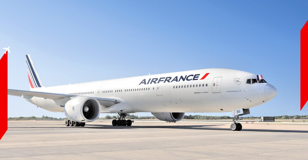 Fly Air France to Dublin, Berlin or Barcelona