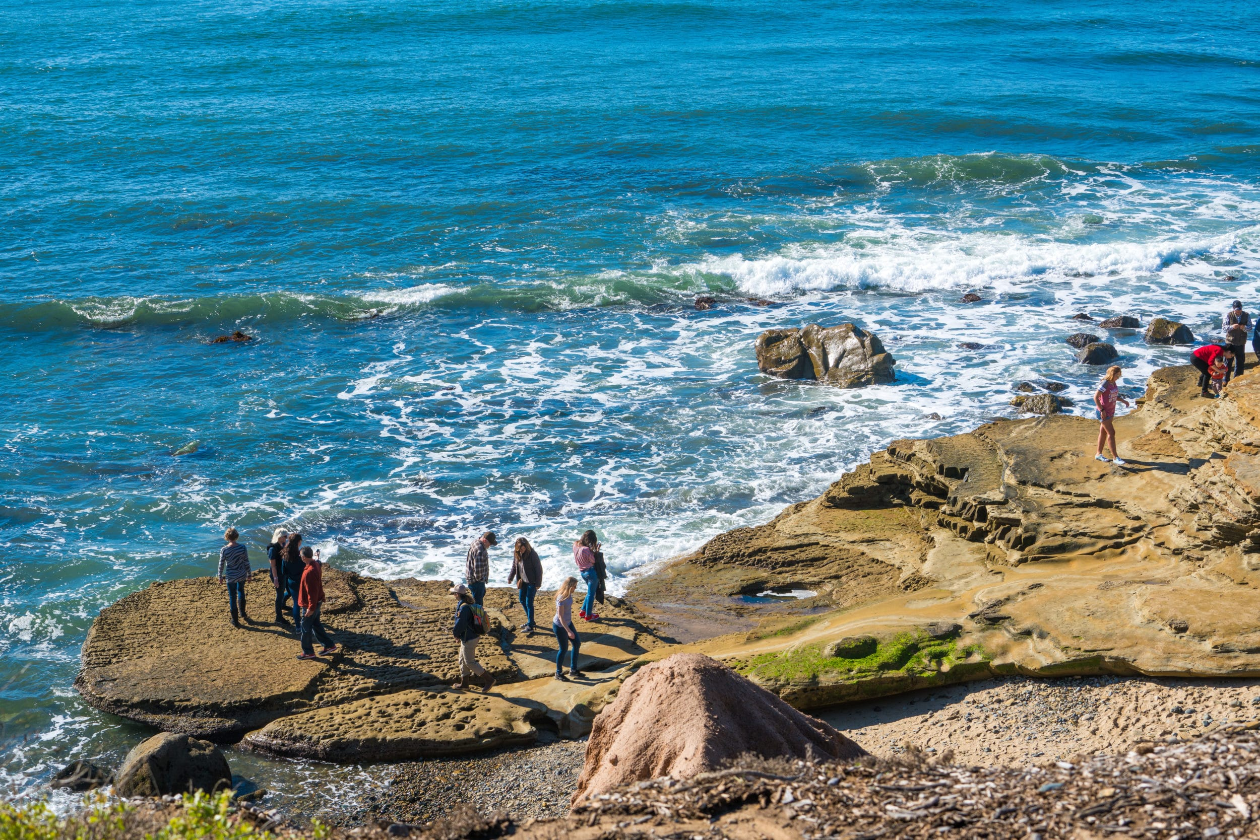 Cabrillo National Monument tide pools.