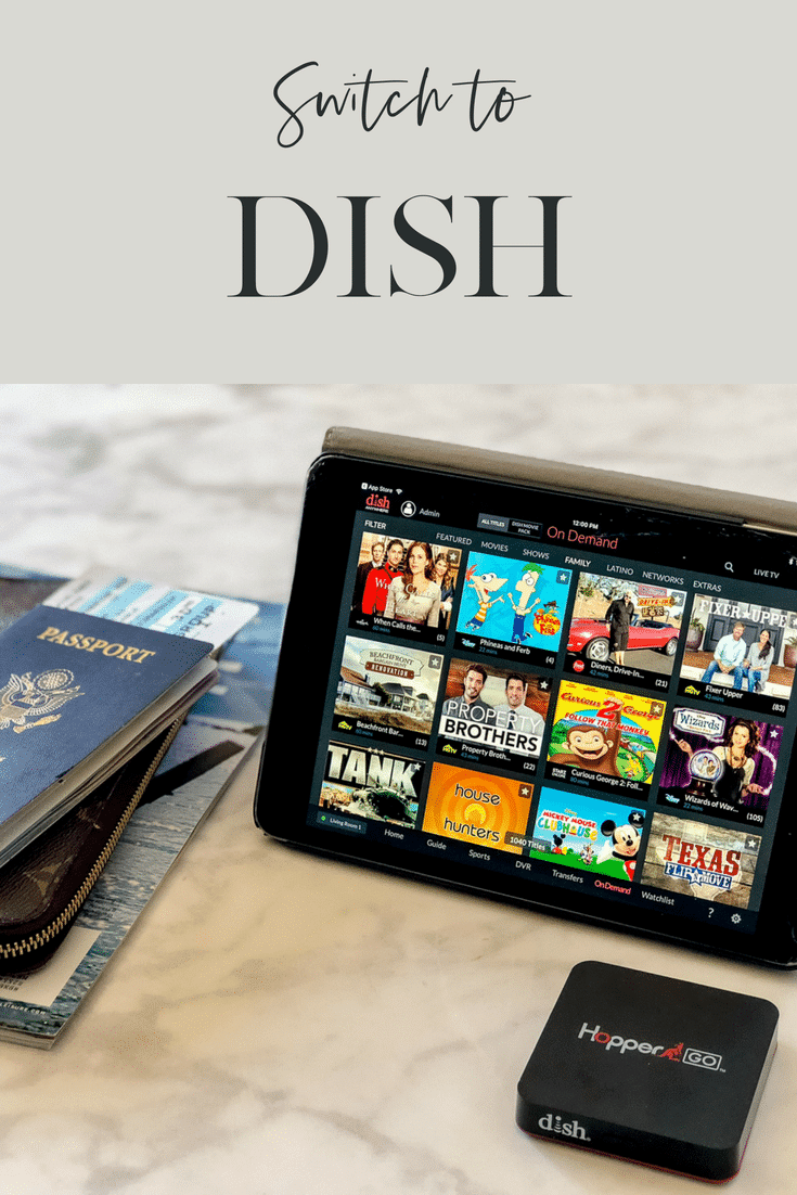 From watching TV on the go to our at-home smart remotes, why we're happy to have switched to DISH.
