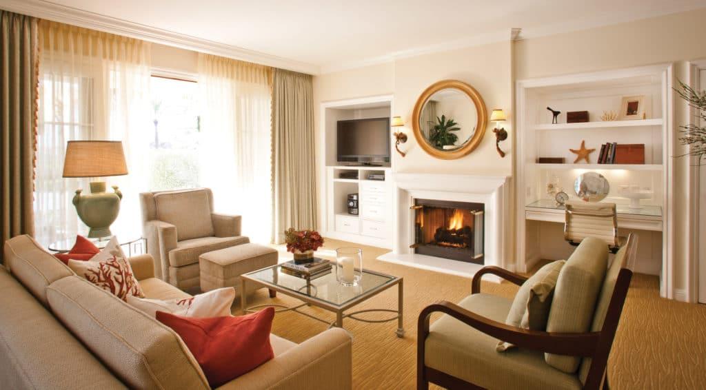 Spacious villas make Four Seasons Aviara one of the best San Diego family hotels.