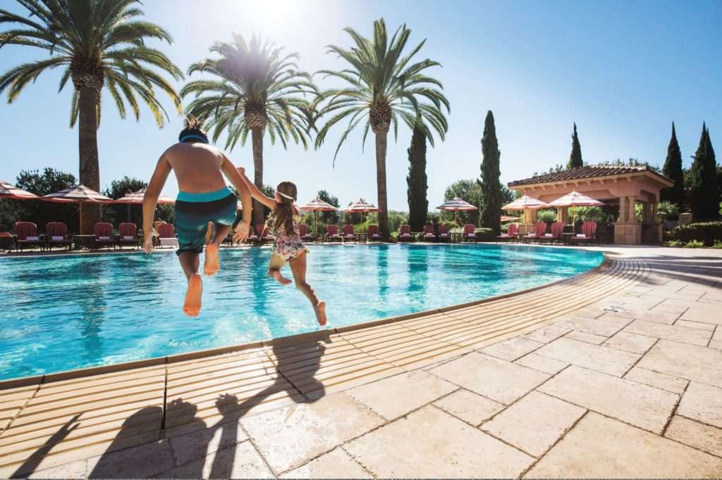 Family pool at Fairmont Grand Del Mar in San Diego