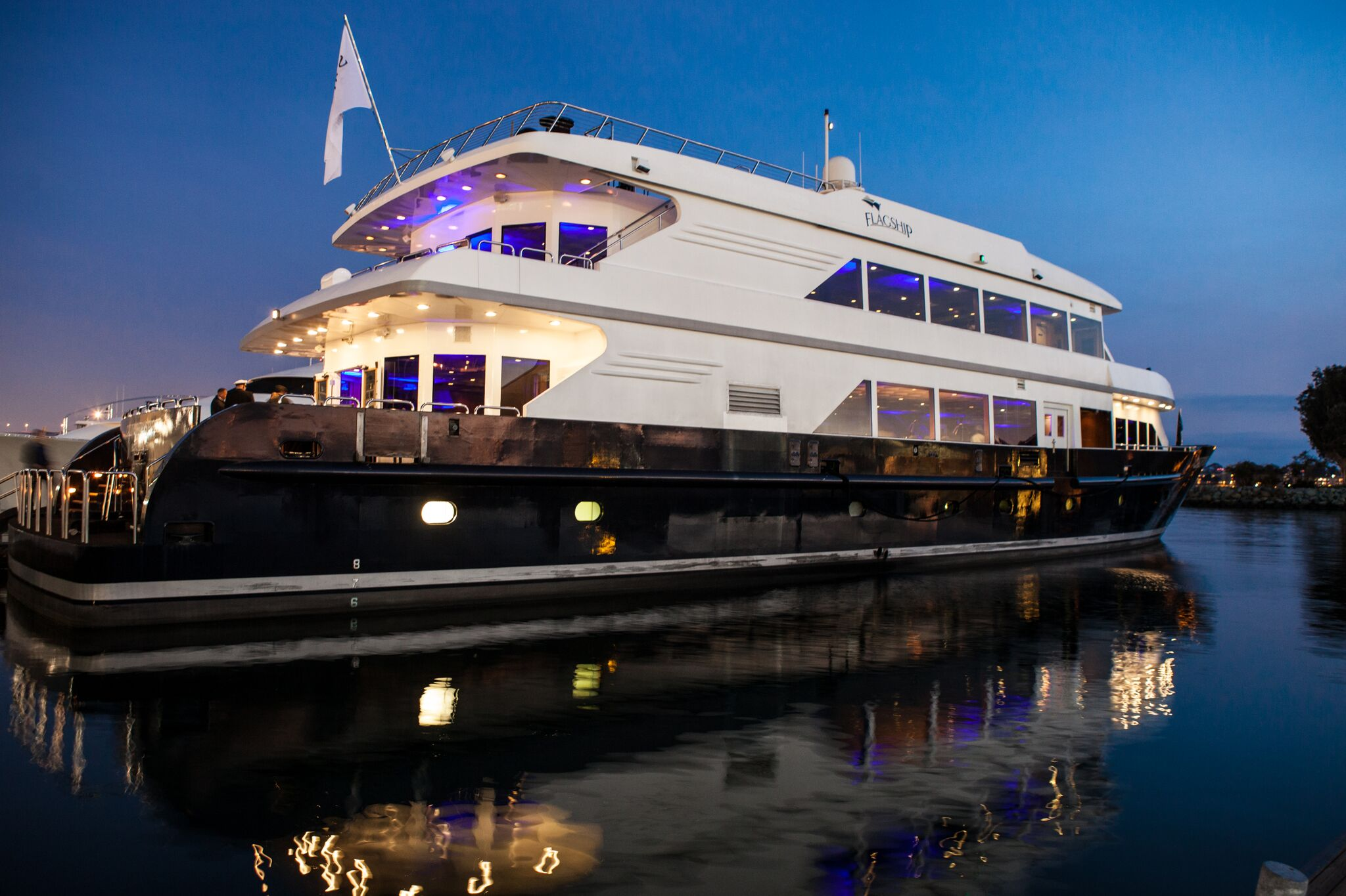 Flagship cruises yacht charter