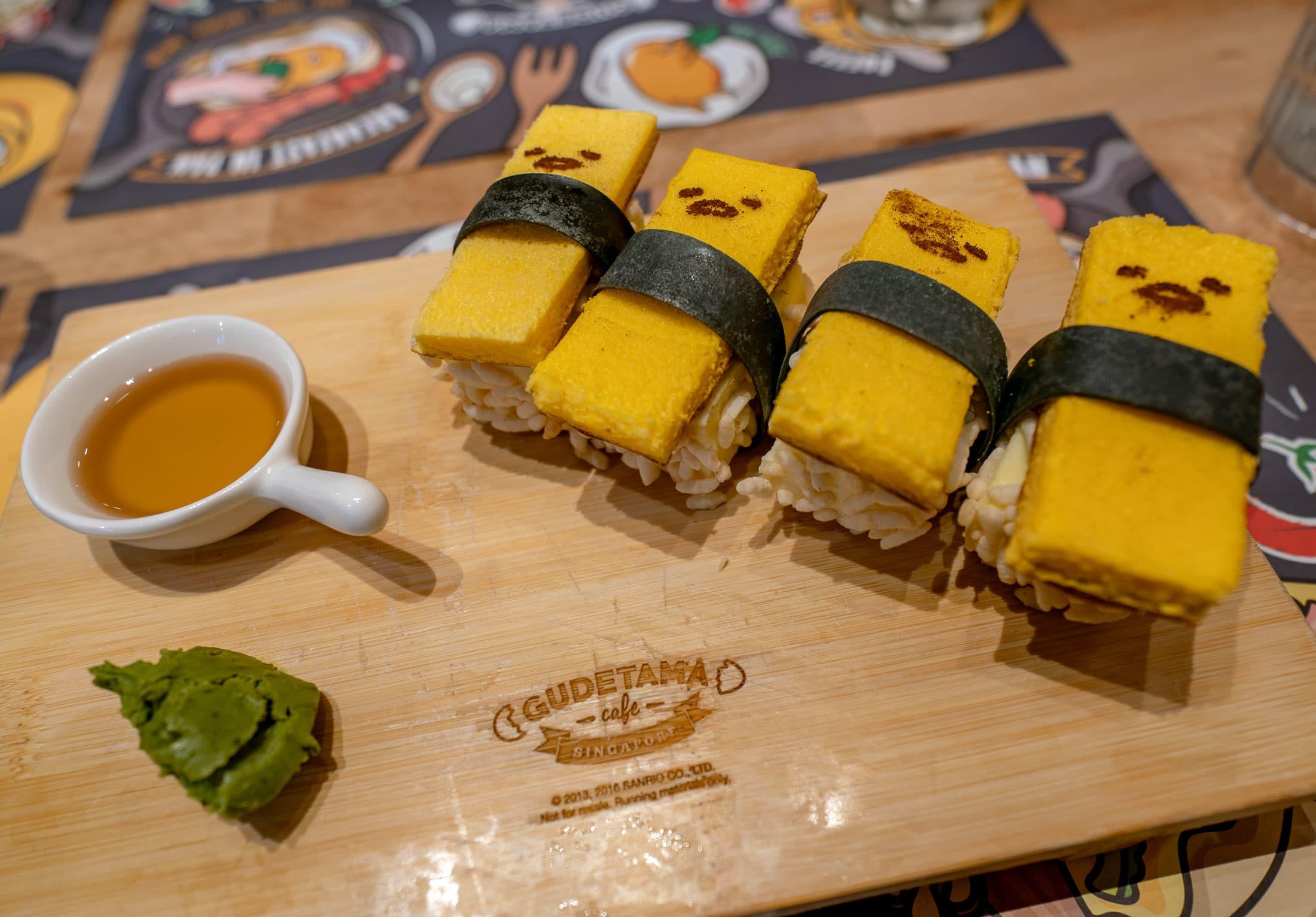 Ta-Ma-Go Gudetama Cafe Singapore