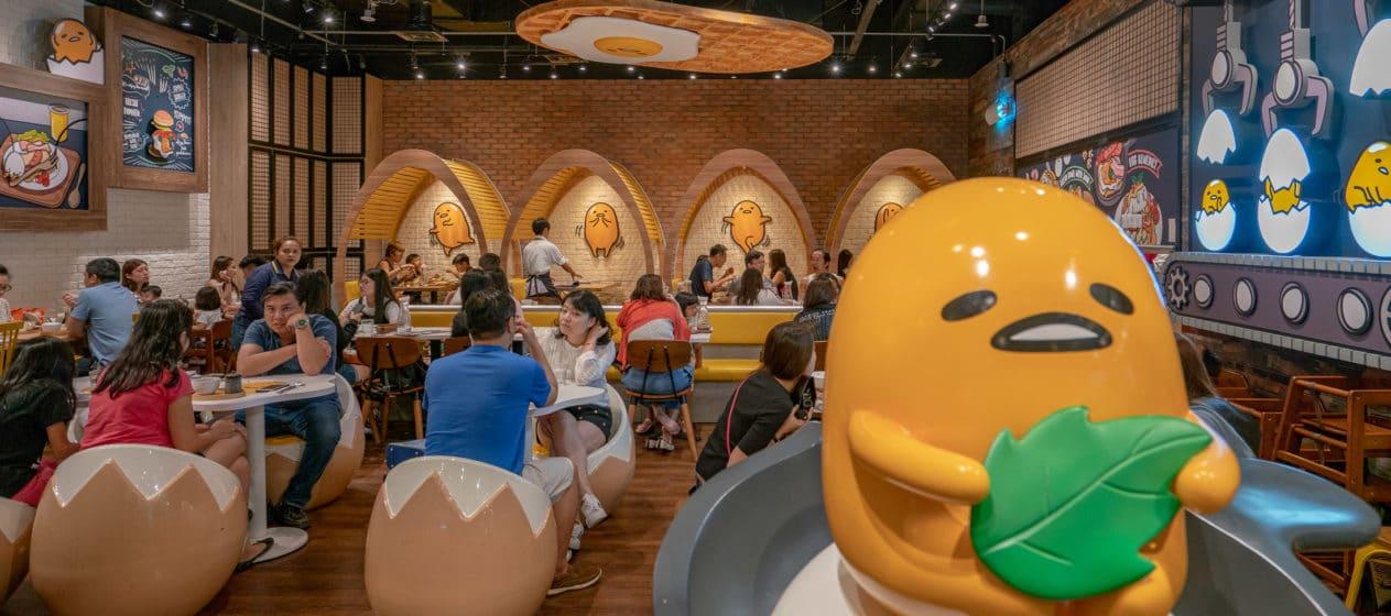A review of the Singapore Gudetama Cafe.