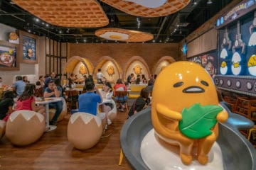 A review of the Singapore Gudetama Cafe.
