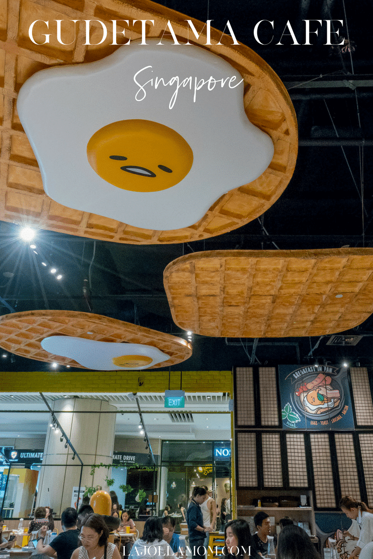 Take a peek inside the super-cute Gudetama Cafe in Singapore