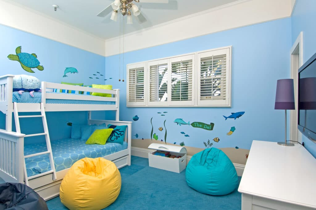 Best San Diego family hotels: Blue Octopus suite for kids at Hotel Del Coronado