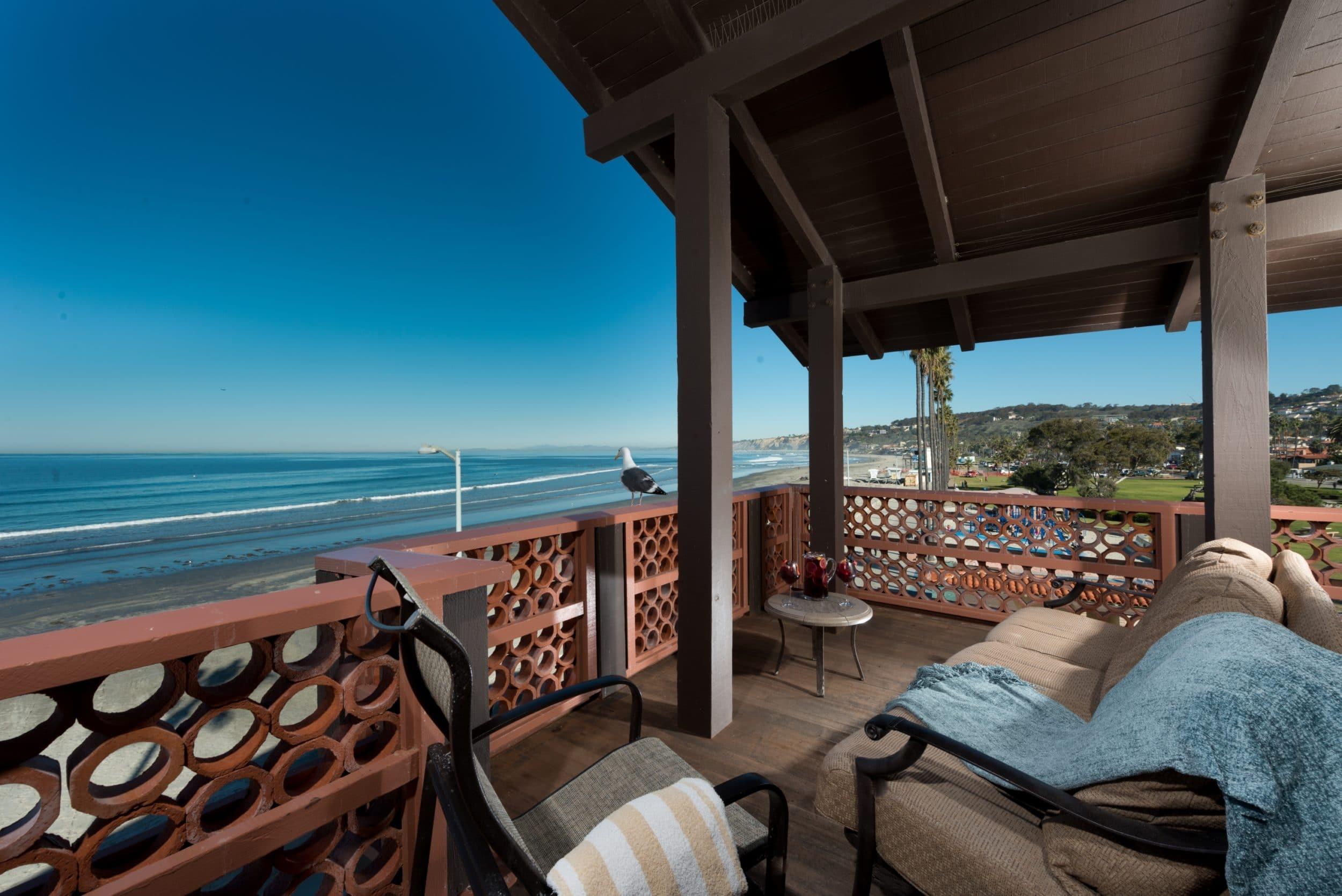 La Jolla Shores Hotel balcony