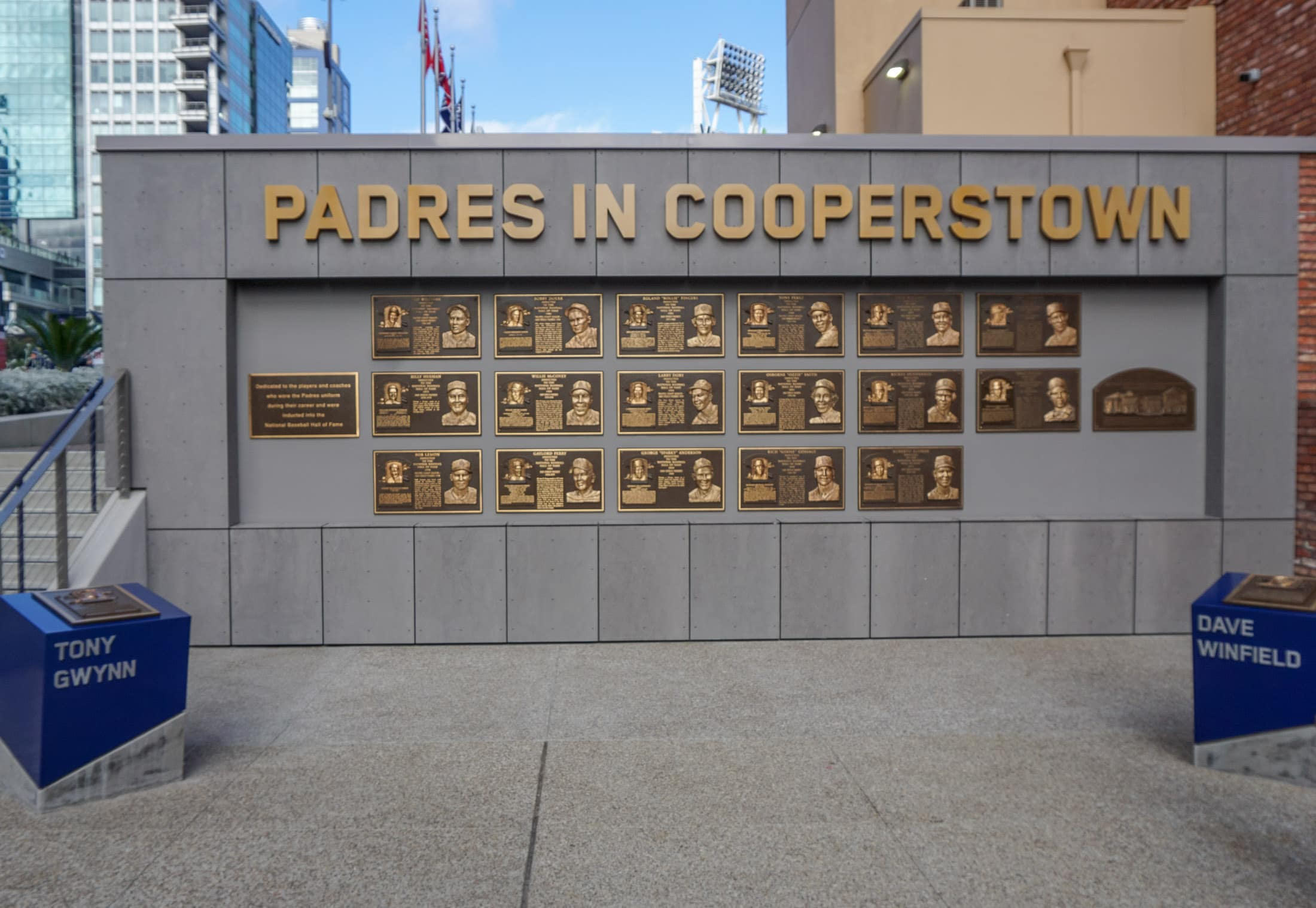Padres Hall of Fame at Petco Park