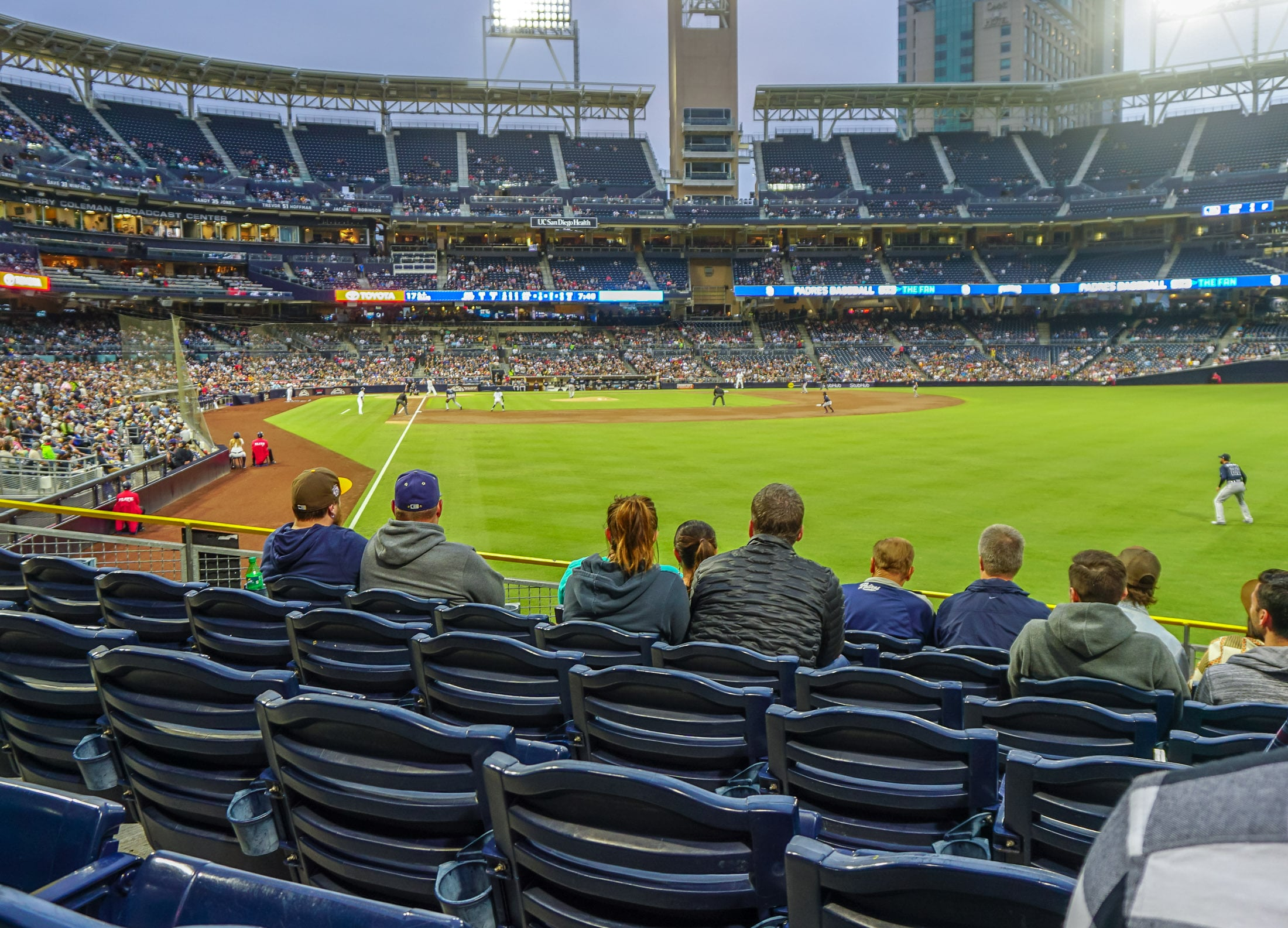 Petco Park seating advice for Padres games