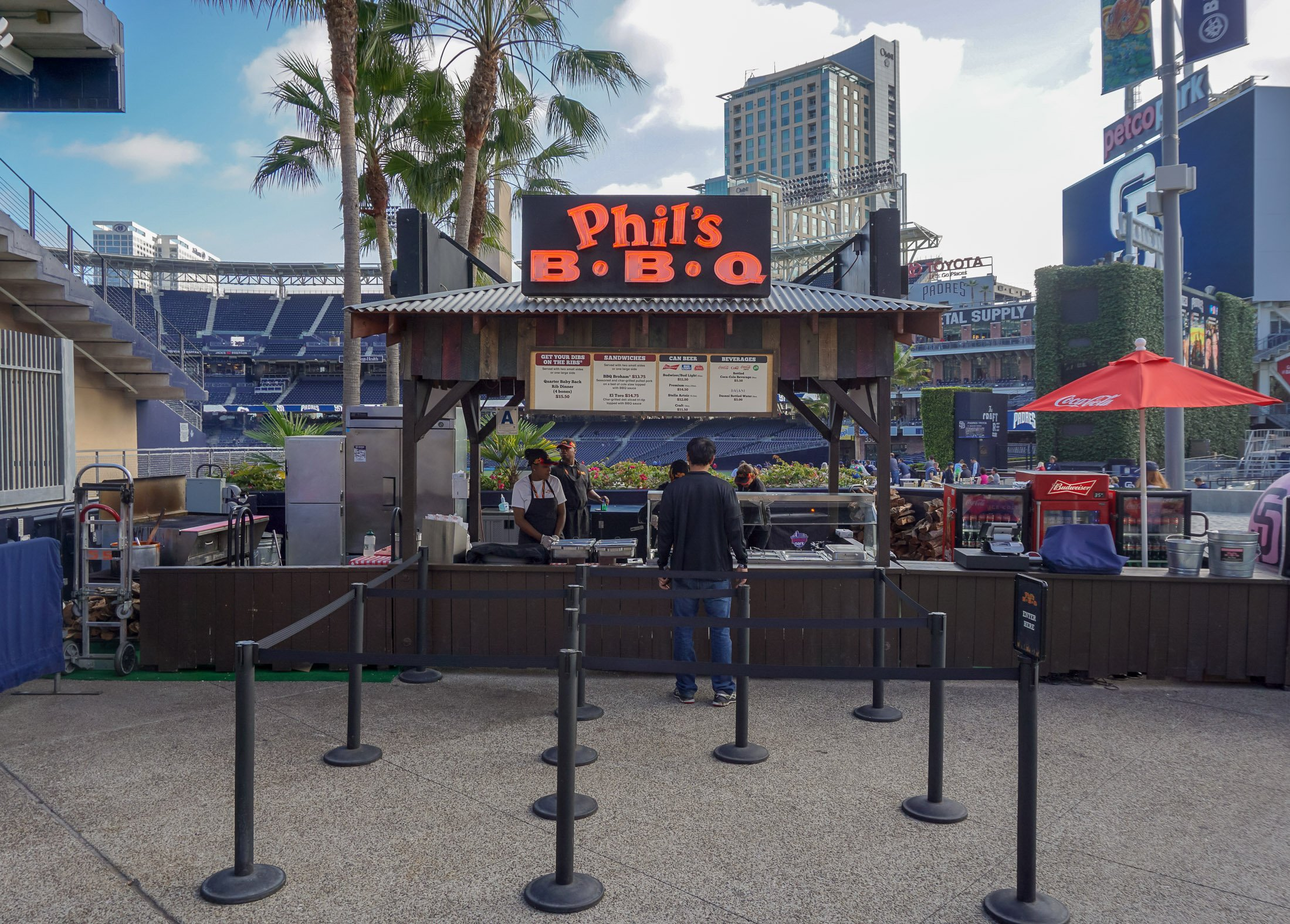 Phil's BBQ at PETCO Park in San Diego