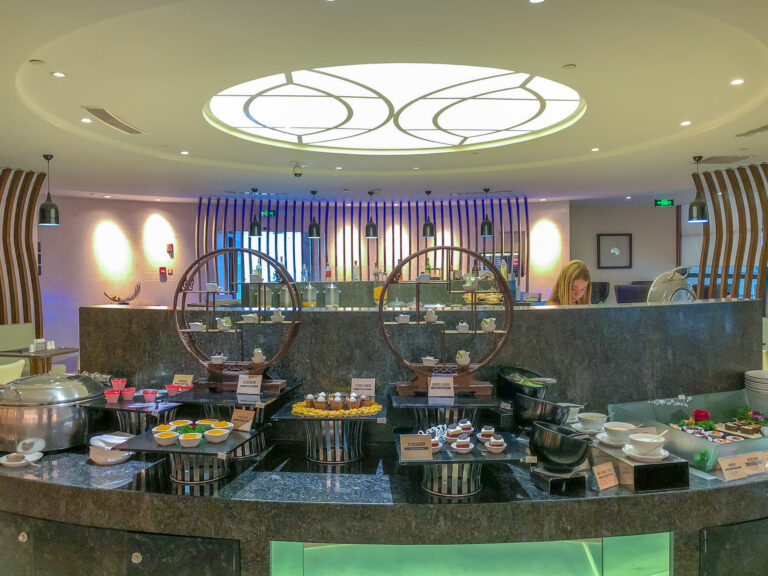 Air China First Class Lounge at Shanghai Pudong Airport