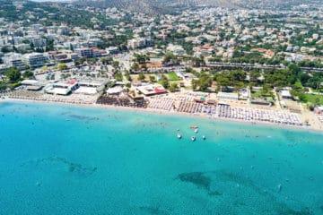 Best Athens beaches: Varkiza Resort