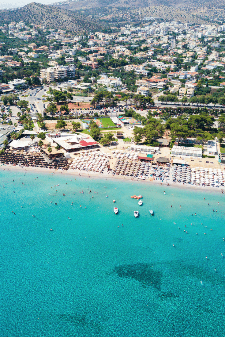 Find out which are the top three Athens beaches and more.